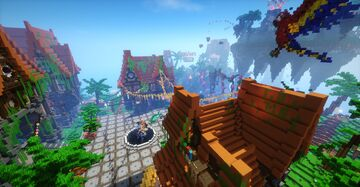 Lobby for network Minecraft Map & Project