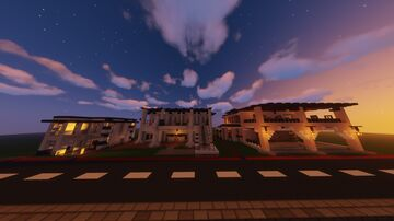VILLA TEMPLATES (FOR COPY & PASTE) Minecraft Map & Project