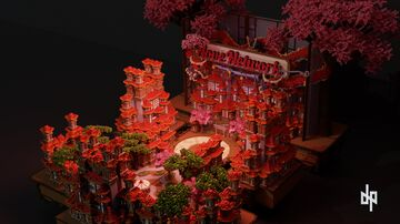 Asia Theme Spawn Minecraft Map & Project