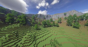 Herja - Ancient Ridged Mountains Minecraft Map & Project