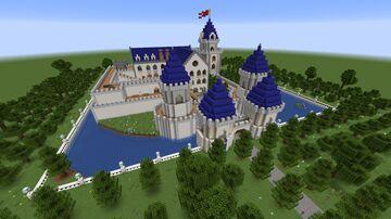 Wushterberg Castle v1.0 Minecraft Map & Project