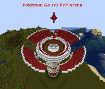 Pokemon Go, 1v1 PvP Arena Minecraft Map & Project