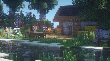 Farmhouse Minecraft Map & Project