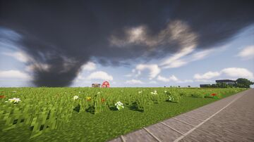 Minecraft: Tornado Alley (WIP 1.12.2) Minecraft Map & Project