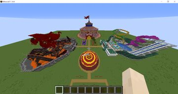Amazing Amusements Minecraft Map & Project