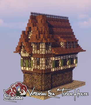 Victorian Era Tudor House #1 Minecraft Map & Project