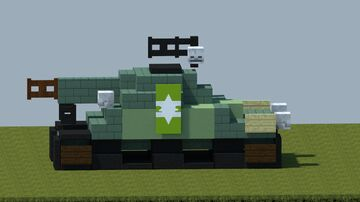 M4 Sherman tank [With download] Minecraft Map & Project