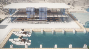 Not Apple Store Minecraft Map & Project