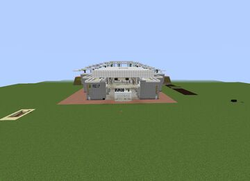 train station Burgos-Spain estacion de tren Burgos-España Minecraft Map & Project