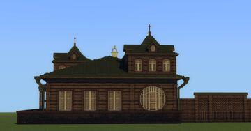 House of merchant F. M. Kurnikov [Дом купца Ф.М. Курникова] Minecraft Map & Project