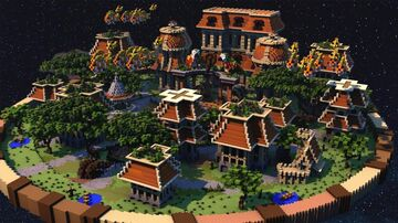 Project-Hub Lobby Minecraft Map & Project