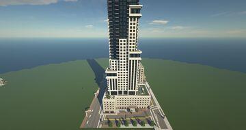 88 Scott Tower Toronto Minecraft Map & Project