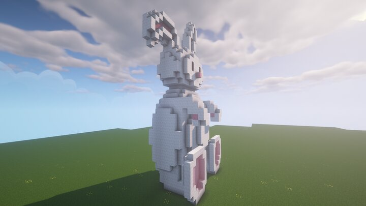 Bunny from left side