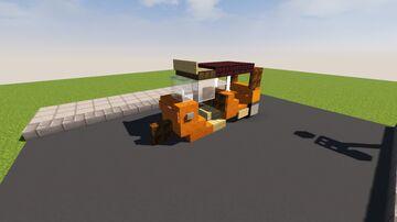 Tuk-Tuk (Auto Rickshaw) Minecraft Map & Project