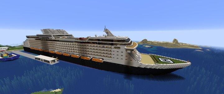 Main Ship Screenshot Showing New Helipad