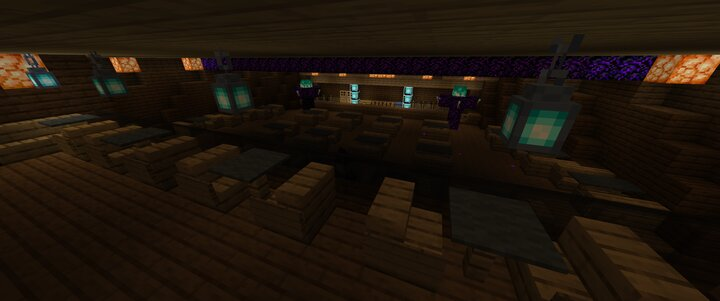 'Flare' Tiki Bar Redone in Blue Flames for 1.16 Deck 5