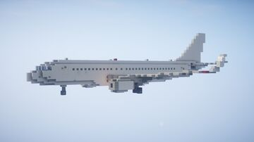 1,5:1 Airbus A320 + Liveries Minecraft Map & Project
