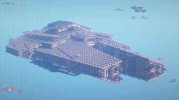 ZION STAR CRUISER Minecraft Map & Project