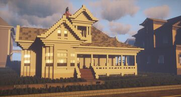 The Texas Chainsaw Massacre House Minecraft Map & Project