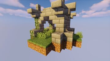 Small Sky Spawn Minecraft Map & Project
