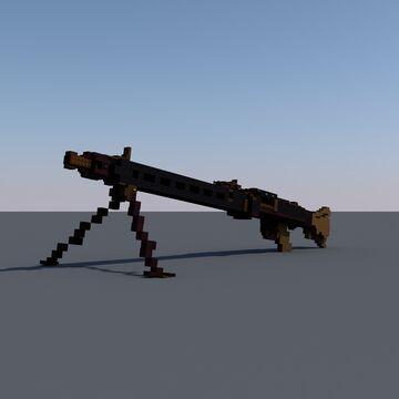 - Maschinengewehr 42 [Big scale:1] - Minecraft Map & Project