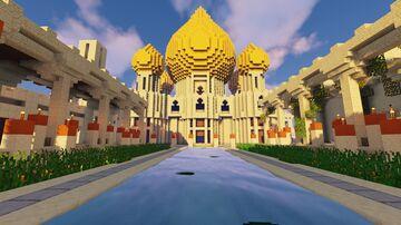 The Forbidden Desert Minecraft Map & Project