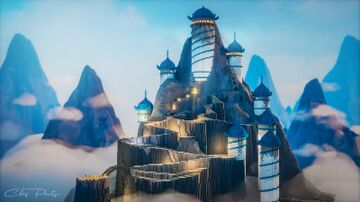 Southern Air Temple   Avatar: The Last Airbender Build Minecraft Map & Project