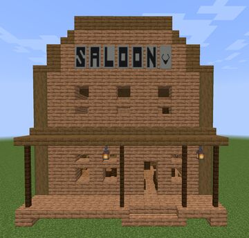 Saloon Structure Minecraft Map & Project
