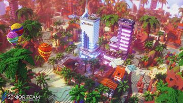 Military Tropical Spawn Minecraft Map & Project