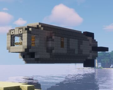 Imperial Navy Torpedo corvette (new version) (L-corp.) for movecraft Minecraft Map & Project