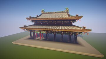 Chinese architecture epic Minecraft Map & Project