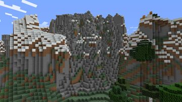 Mountain Landscaping Minecraft Map & Project