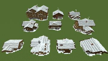 Minecraft House Pack + Download Minecraft Map & Project