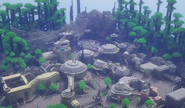 Galaxy's Edge Minecraft Map & Project