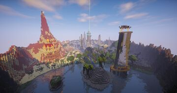 PixelMMO - Legendary Shrines Warp Minecraft Map & Project