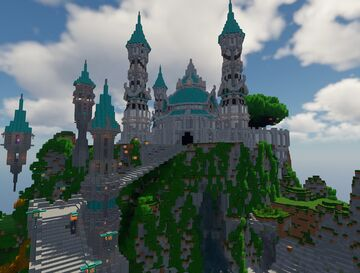 Elven Castle map Minecraft Map & Project