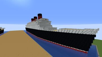 R.M.S. Caledonia (1928) (Updated) Minecraft Map & Project