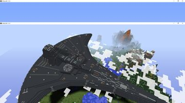 Stargate Universe - The Destiny MC 1.12.2 Minecraft Map & Project