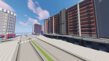 Tokyo-style city Minecraft Map & Project