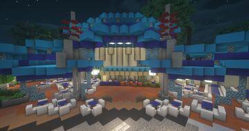 Comet Cafe (Hong Kong Disneyland) Minecraft Map & Project