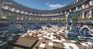The Coliseum Minecraft Map & Project