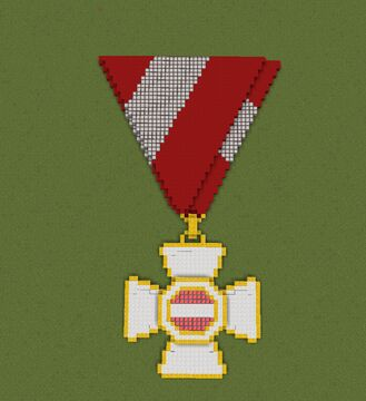 Military Order of Maria Theresa Knight's Cross Minecraft Map & Project
