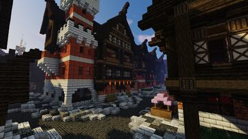 Free City of Anjou Minecraft Map & Project