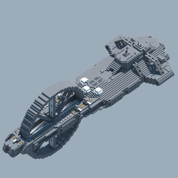 Soma Union - Eris Class Destroyer - the abandoned design Minecraft Map & Project