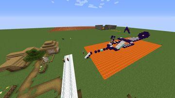 minijuego del meteorito Minecraft Map & Project