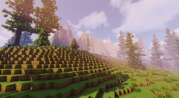 Swirling Isle Minecraft Map & Project