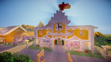 dandelion waters (1.14.4 beach village) Minecraft Map & Project