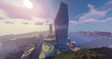 The Vase Skyscraper London 1:1 Minecraft Map & Project