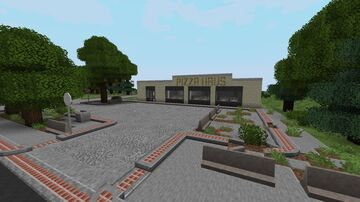 Pizza Haus Minecraft Map & Project