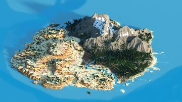 Mountain and Mesa Minecraft Map & Project